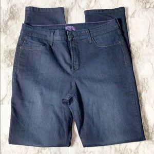 NYDJ Dark Wash Skinny Jeans Size 12 NWOT